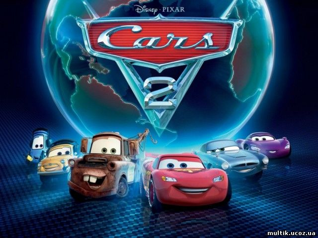 Disney. Тачки 2 / Cars 2. The Video Game (2011) PC